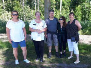 Wandelgroep Almere buiten